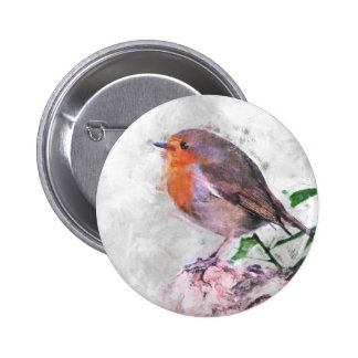 Robin Redbreast Buttons