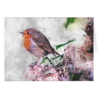 Robin Redbreast Card