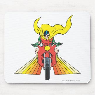 Robin Rides 2 2 Mousepad