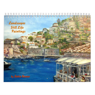 Robin Rosner Oil Paintings Wall Calendars