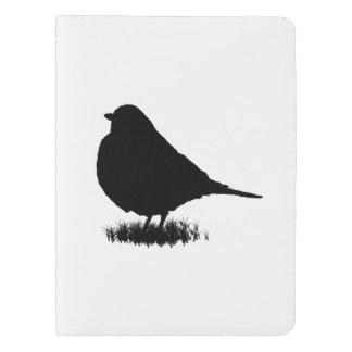 Robin Silhouette Love Bird Watching Extra Large Moleskine Notebook