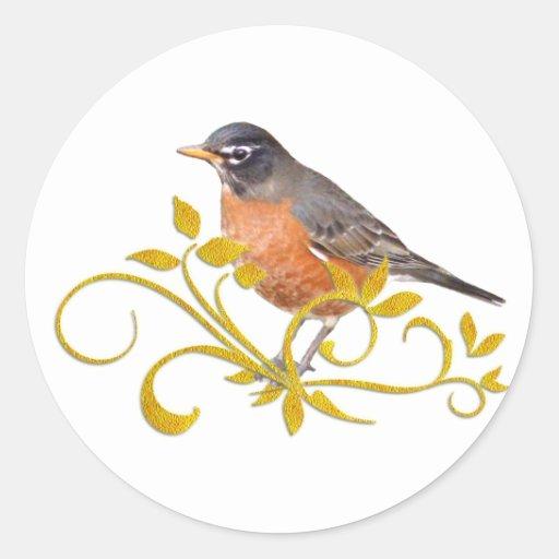 Robin Stickers