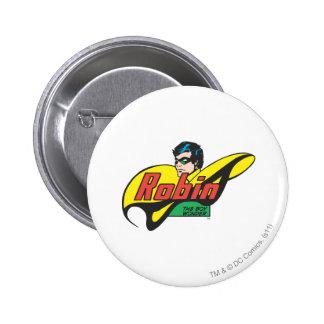 Robin The Boy Wonder Pins