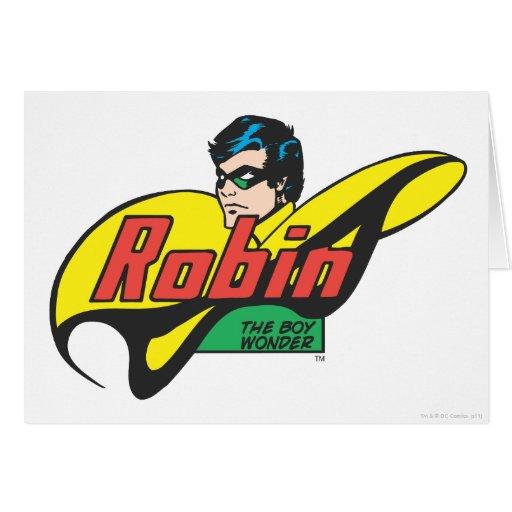 Robin The Boy Wonder Greeting Card