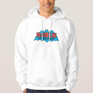 Robin The Teen Wonder Logo Hoodie