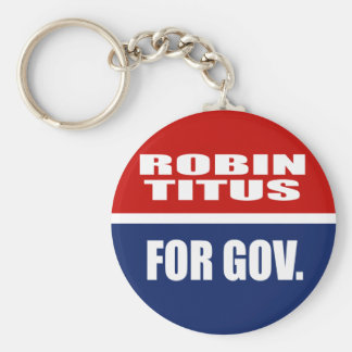 ROBIN TITUS FOR SENATE KEYCHAIN