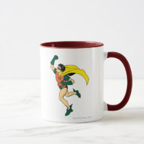 vintage, retro, robin uppercut, batman, bat man, 1966 batman, 60's batman, batman action callout, action words, fighting sound effect words, punching sounds, adam west, burt ward, batman tv show, batman cartoon graphics, super hero, classic tv show, Mug with custom graphic design