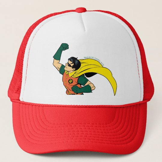 Robin Uppercut Trucker Hat