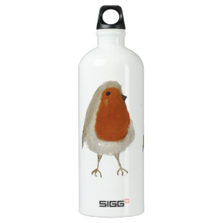 Robin Watercolor Water Bottle