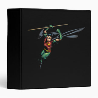 Robin with Staff - Leaps 3 Ring Binder