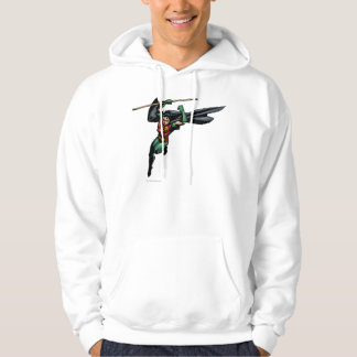 Robin with Staff - Leaps Hoodie