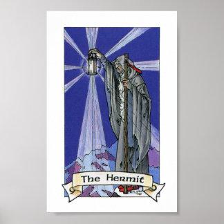 Robin Wood Tarot - Major 09 The Hermit Poster