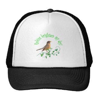 Robins Brighten My Day Trucker Hat