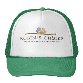 Robin's Chicks Trucker Hair Trucker Hat