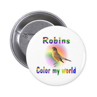 Robins Color My World Button