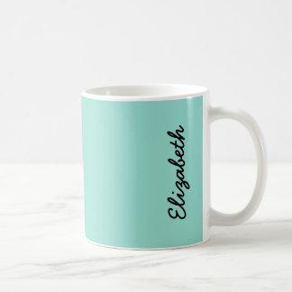 Robin's Egg Blue Solid Color Coffee Mug