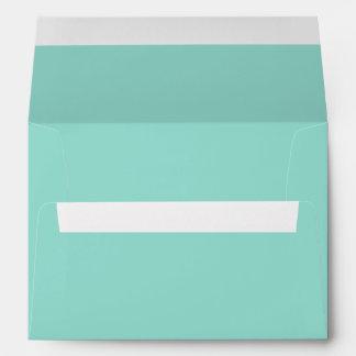 Robin's Egg Blue Solid Color Envelopes