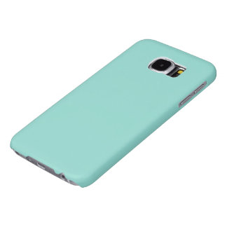 Robin's Egg Blue Solid Color Samsung Galaxy S6 Cases