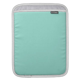 Robin's Egg Blue Solid Color Sleeve For iPads