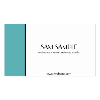 Robin's Egg Double-Sided Standard Business Cards (Pack Of 100)