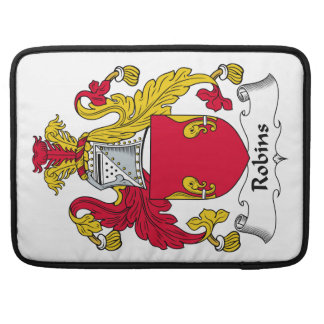 Robins Family Crest MacBook Pro Sleeve