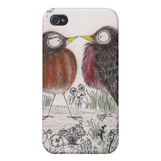 Robins - iPhone 4/4S Case