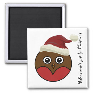 Robins...Magnet 2 Inch Square Magnet