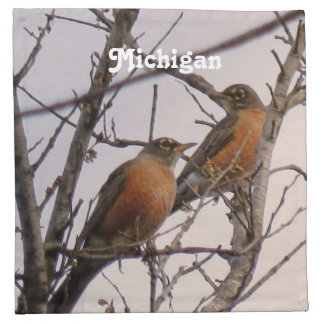 Robins Printed Napkin