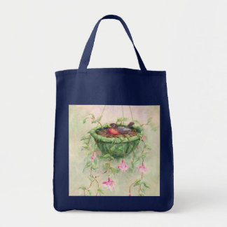 ROBIN'S NEST by SHARON SHARPE Tote Bag