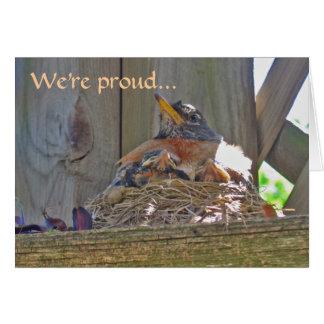 Robin's nest new home card