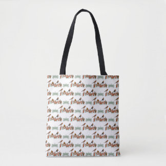 Robins Texture All Over Print Bag (choose colour)