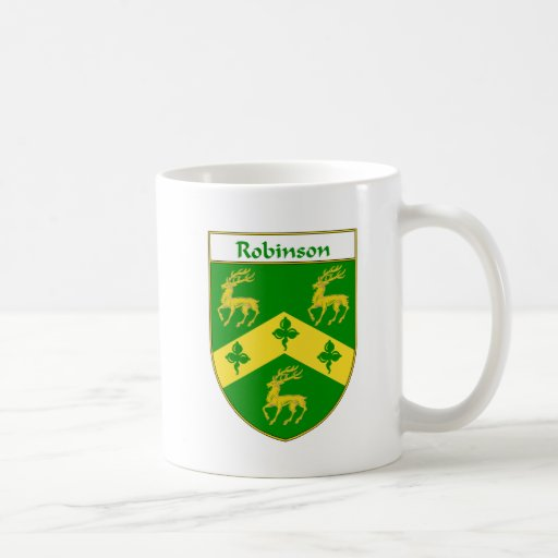 Robinson Coat of Arms/Family Crest Coffee Mug