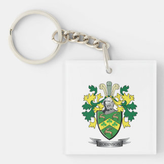 Robinson Coat of Arms Keychain