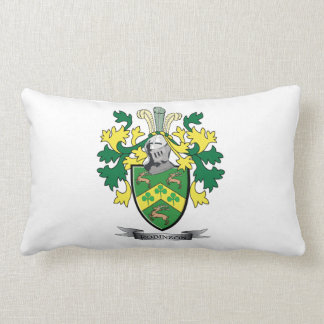 Robinson Coat of Arms Lumbar Pillow