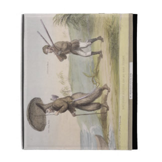 Robinson Crusoe and his Man Friday, (HB Sketches N iPad Case