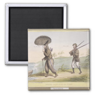 Robinson Crusoe and his Man Friday, (HB Sketches N Magnet