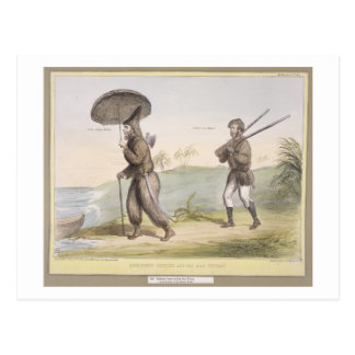 Robinson Crusoe and his Man Friday, (HB Sketches N Postcard