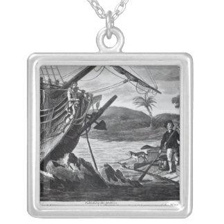 Robinson Crusoe carrying away Custom Jewelry