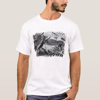 Robinson Crusoe carrying away T-Shirt