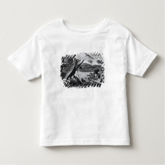 Robinson Crusoe carrying away Toddler T-shirt