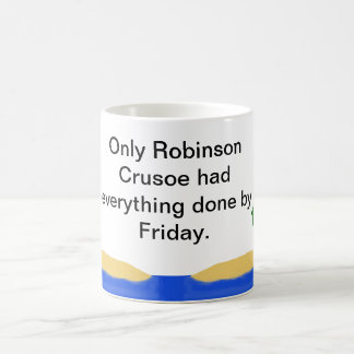 Robinson Crusoe Coffee Mug