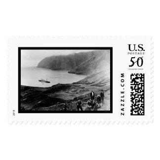 Robinson Crusoe Island in Chile 1915 Postage