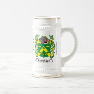 Robinson, el origen, el significado y el escudo en tazas de café