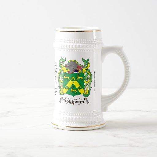Robinson, el origen, el significado y el escudo jarra de cerveza