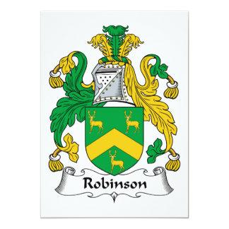 Robinson Family Crest Card