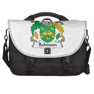 Robinson Family Crest Laptop Messenger Bag