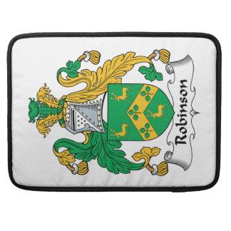 Robinson Family Crest Sleeves For MacBooks