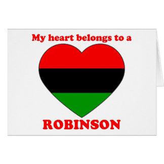 Robinson Greeting Card