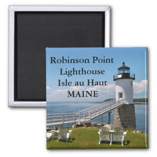 Robinson Point Lighthouse, Maine Magnet