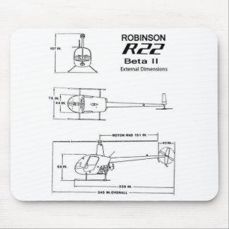 Robinson R22 Mousepad
